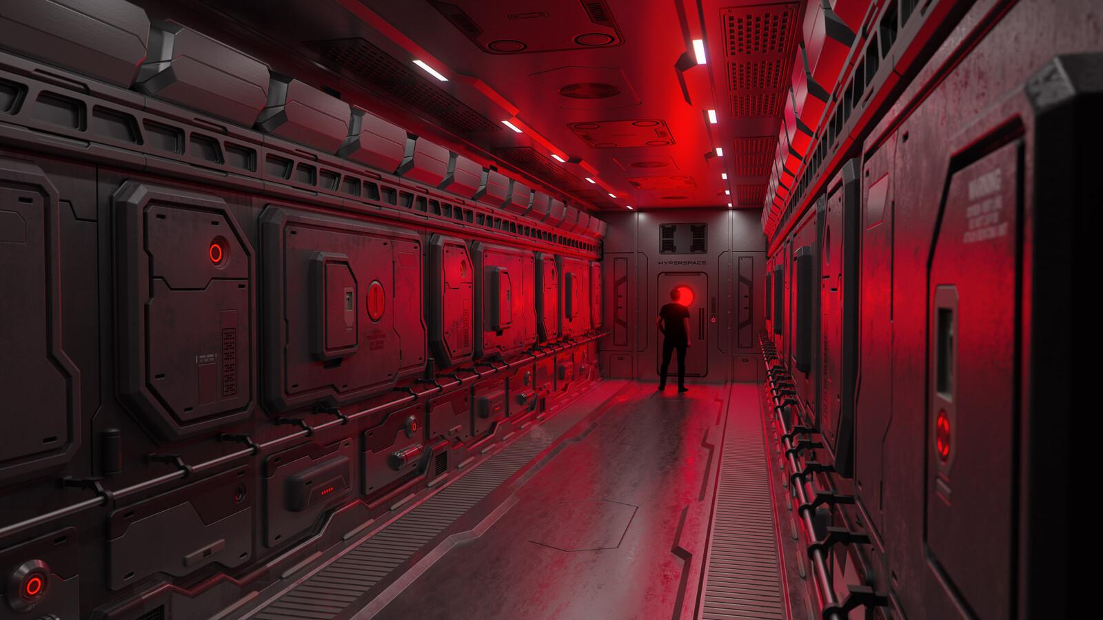 HyperspaceVR Engine Room