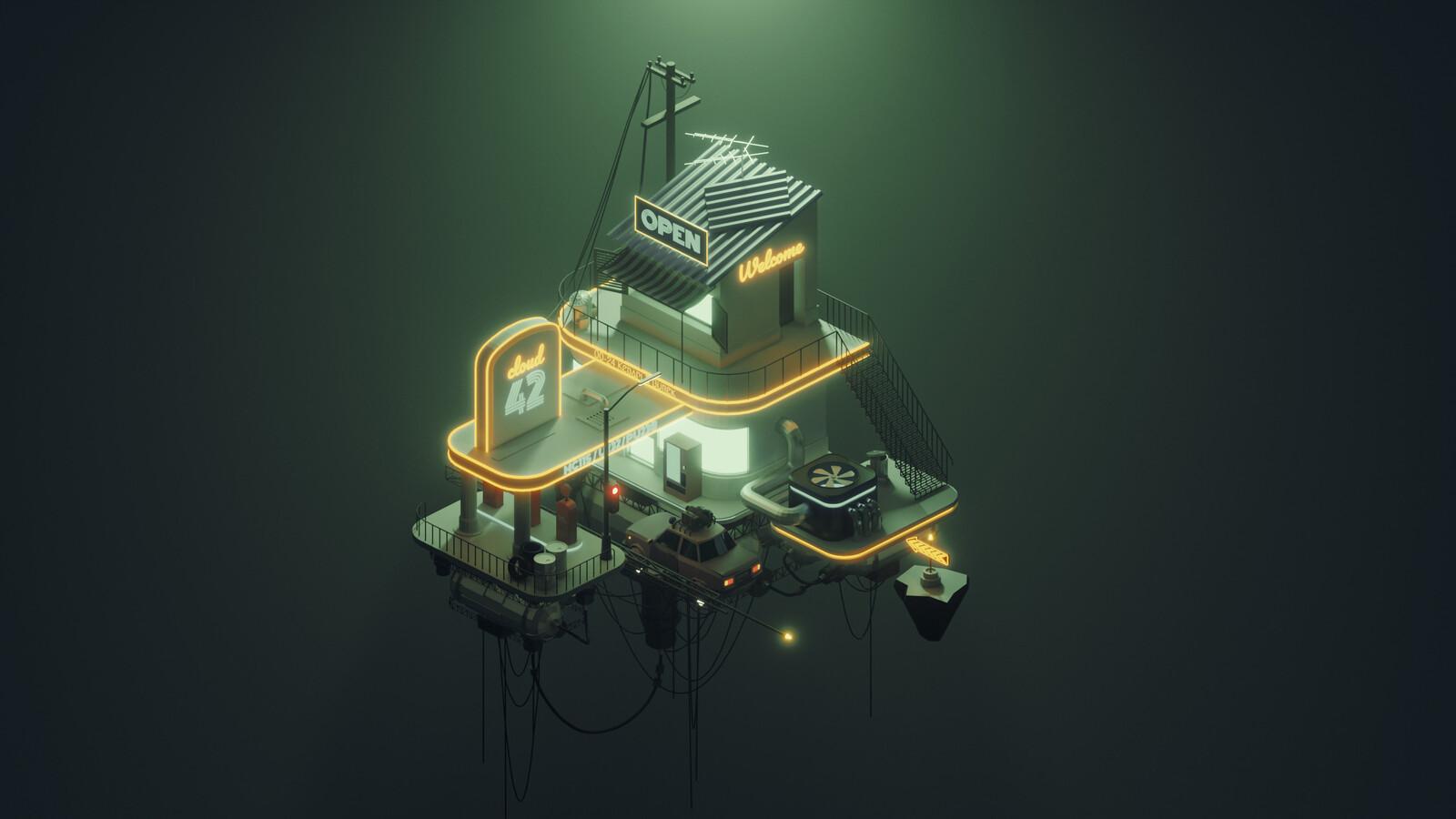 Cloudstation - Polygon Runway