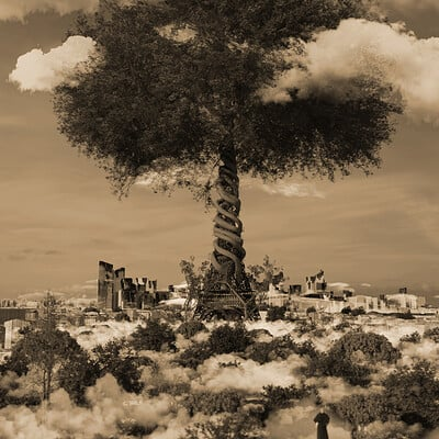 Art amin sepia final the power of the nature