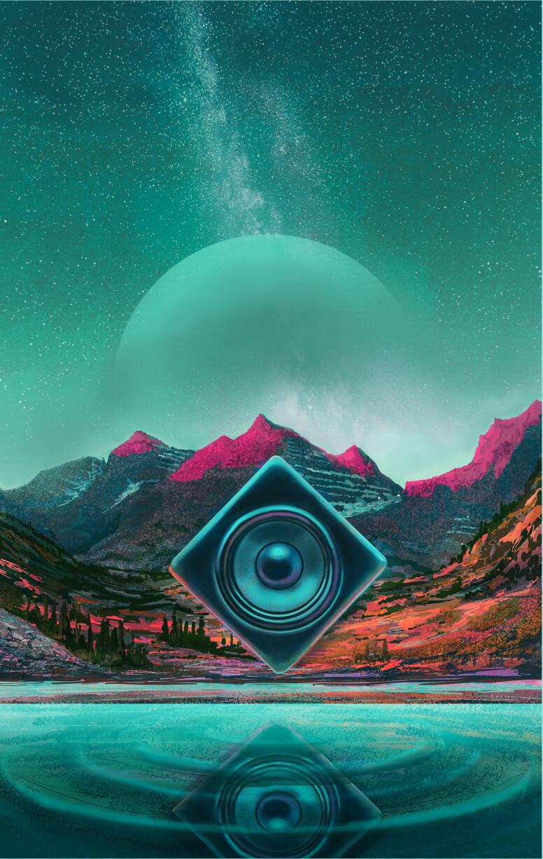 Illustration for poster art