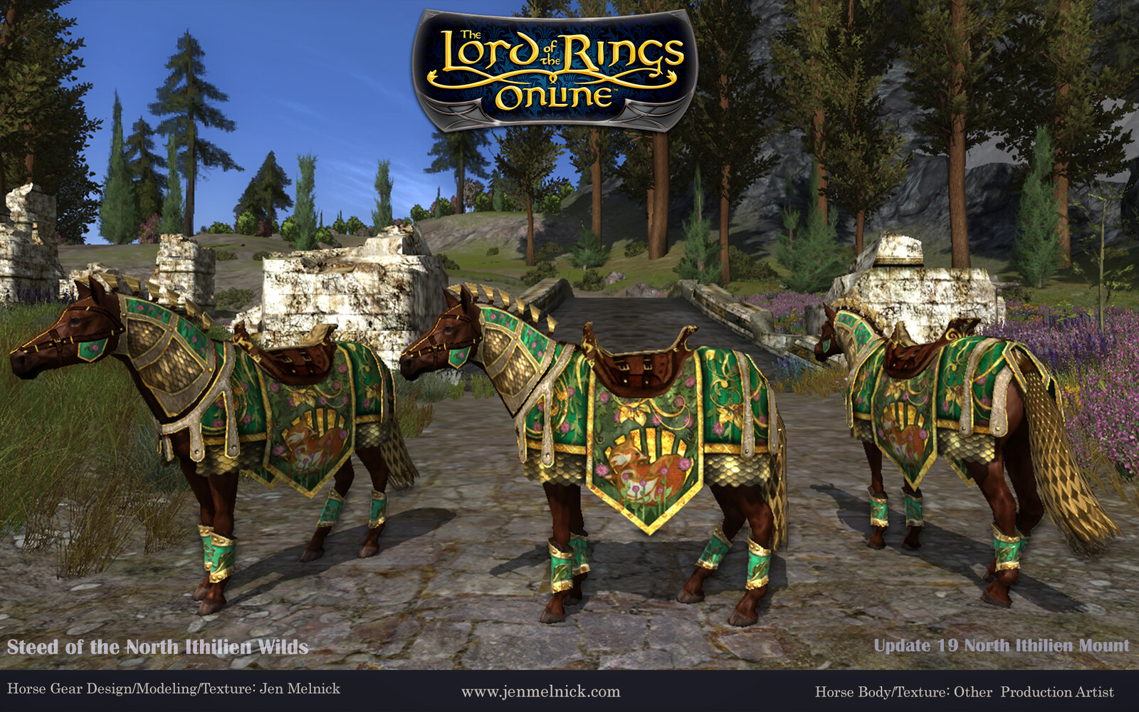 Update 19 North Ithilien Deed Mount Steed of the North Ithilien Wilds In-Game Screenshot Day
