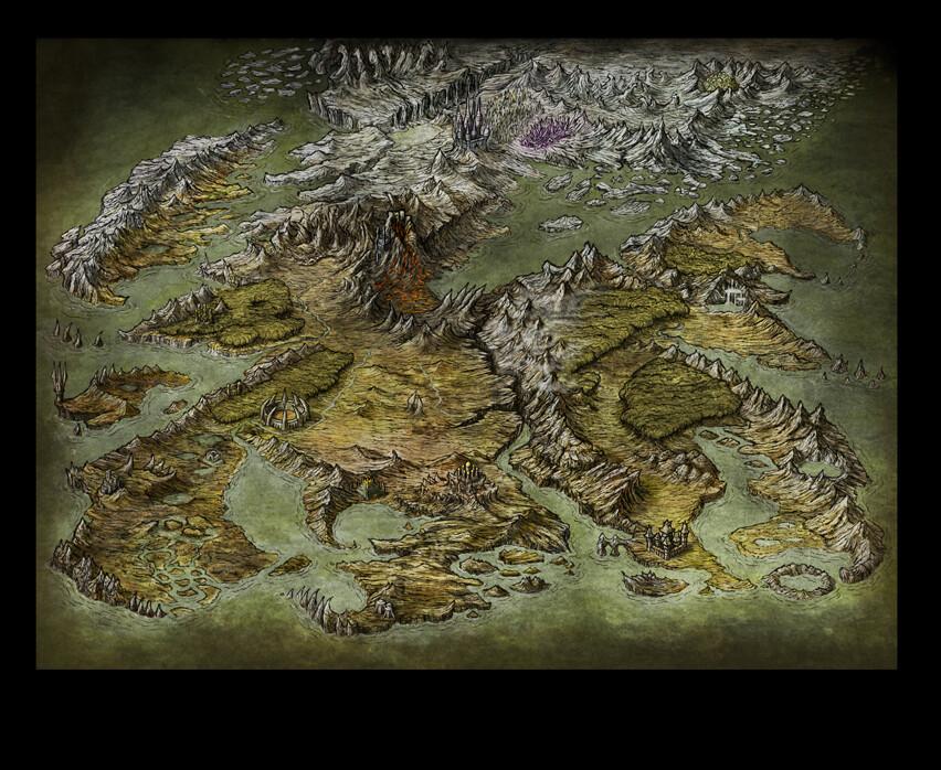 Worldmap for online game