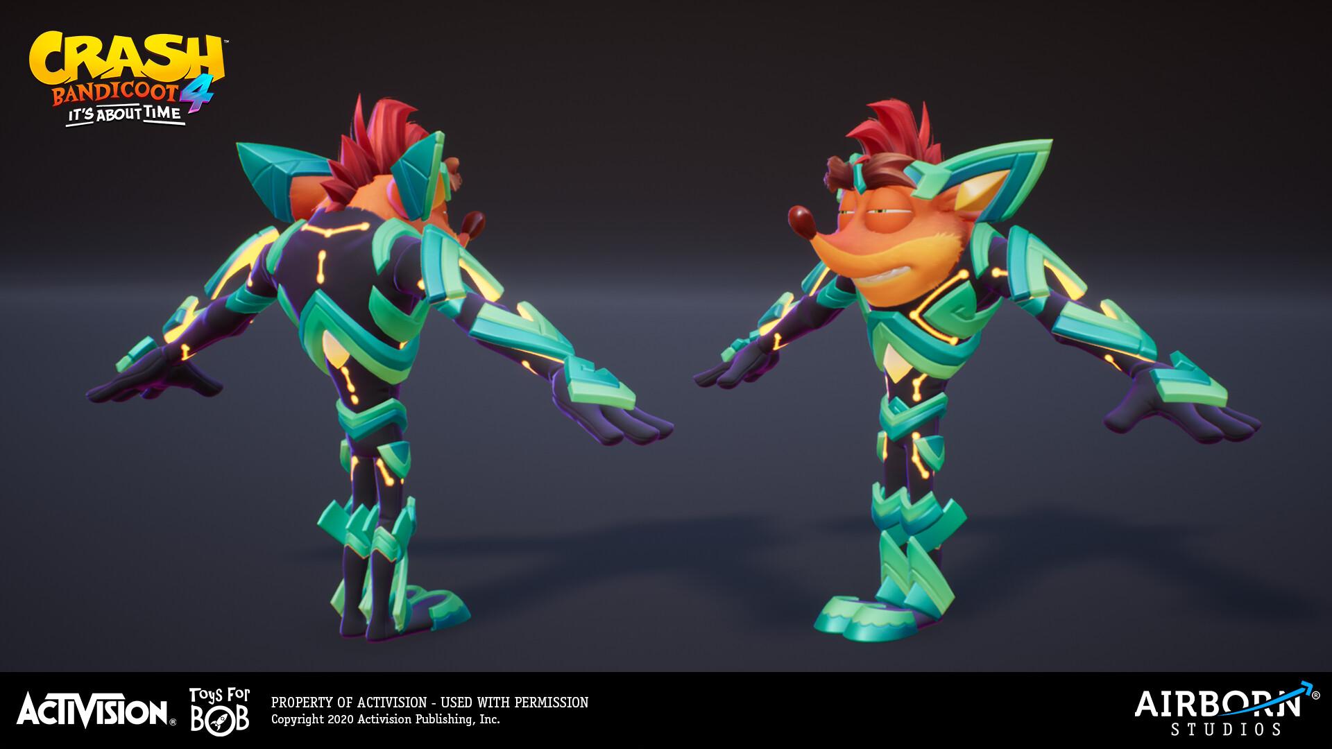 Airborn Studios - Crash Bandicoot 29 - Crash Ika-Ika Suit