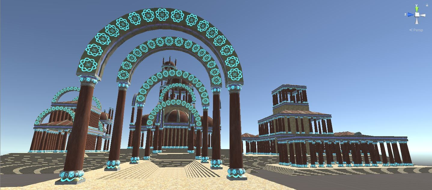 Building: Arch ways