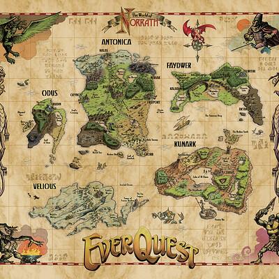 Rick schmitz norrath map