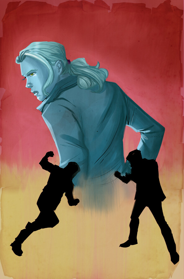 The Death of Nancy Drew #3 cover