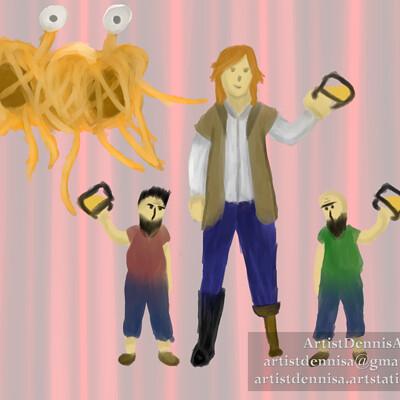 Dennis a characternuances post 01 01 pastafarians
