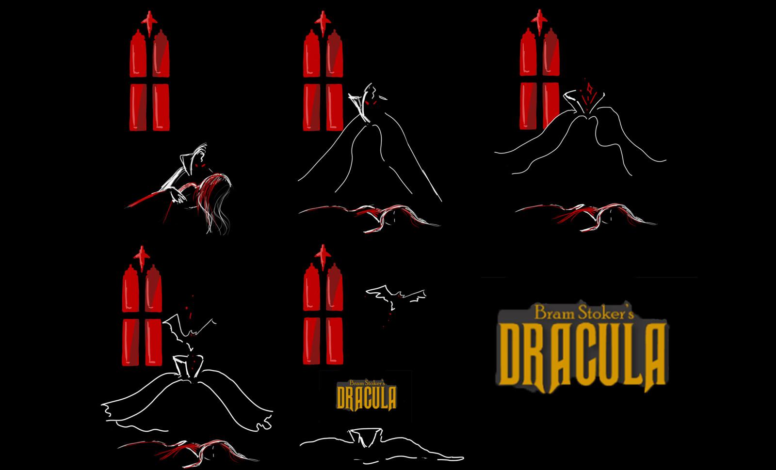 Dracula Storyboard, Sydni Wolpert   ArtStation