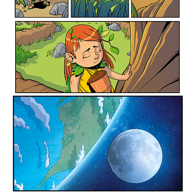 Ilaria fella gaia and the tree of life issue 1 page 1