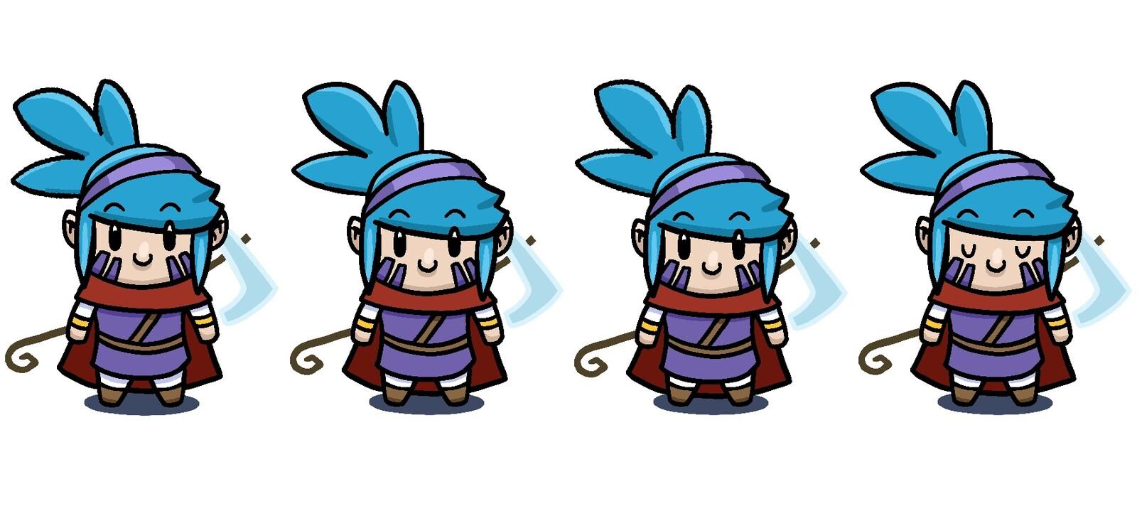 Rune: Down Idle Character Sheet