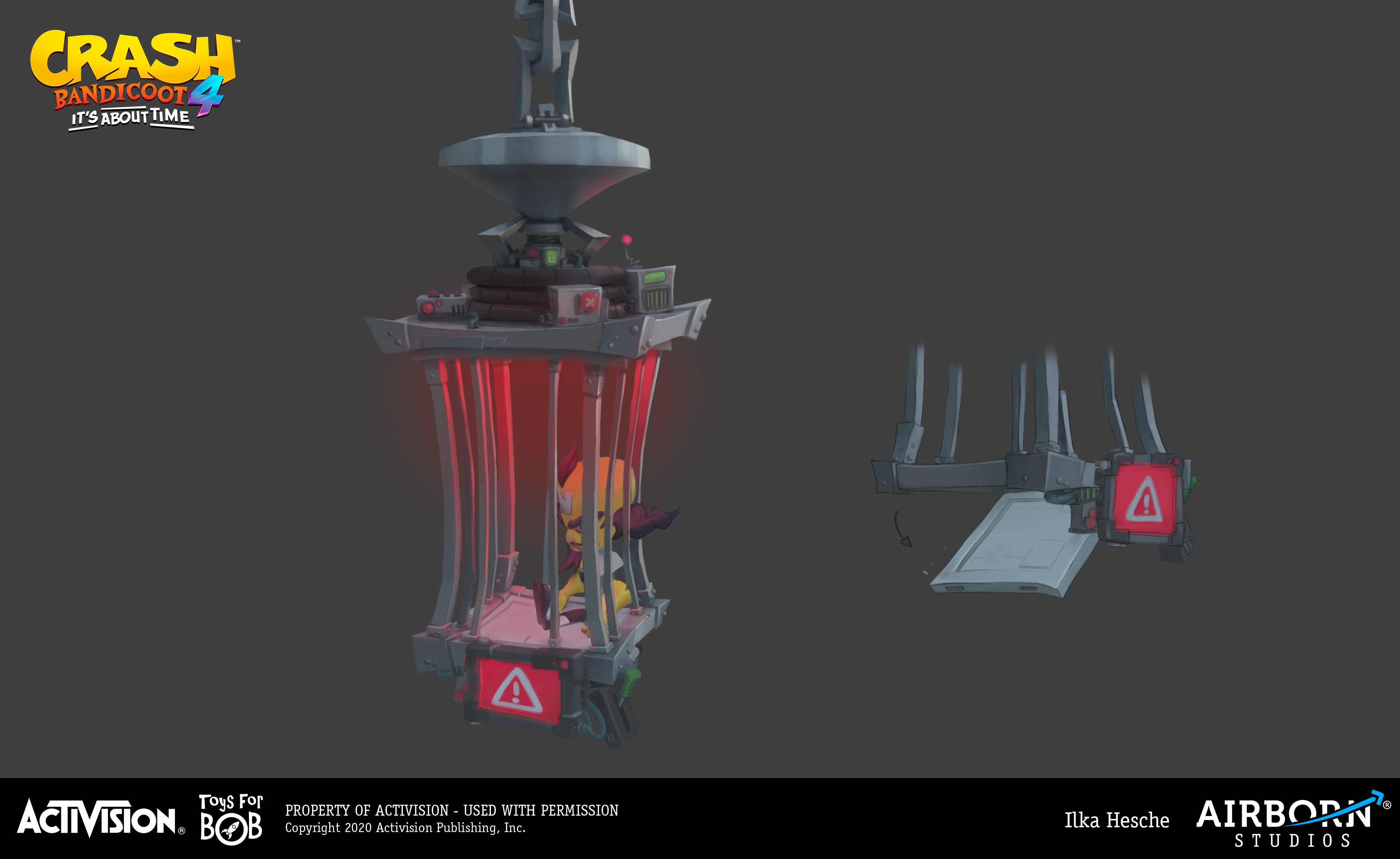 (3D blockout for this one done by Simon Kopp)