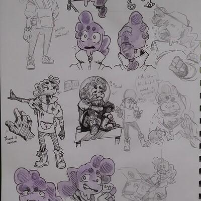Tamar olchik alien gas toby sketches