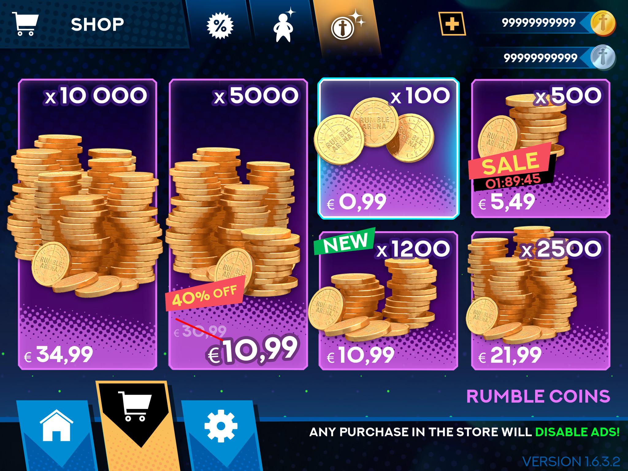 IAP shop