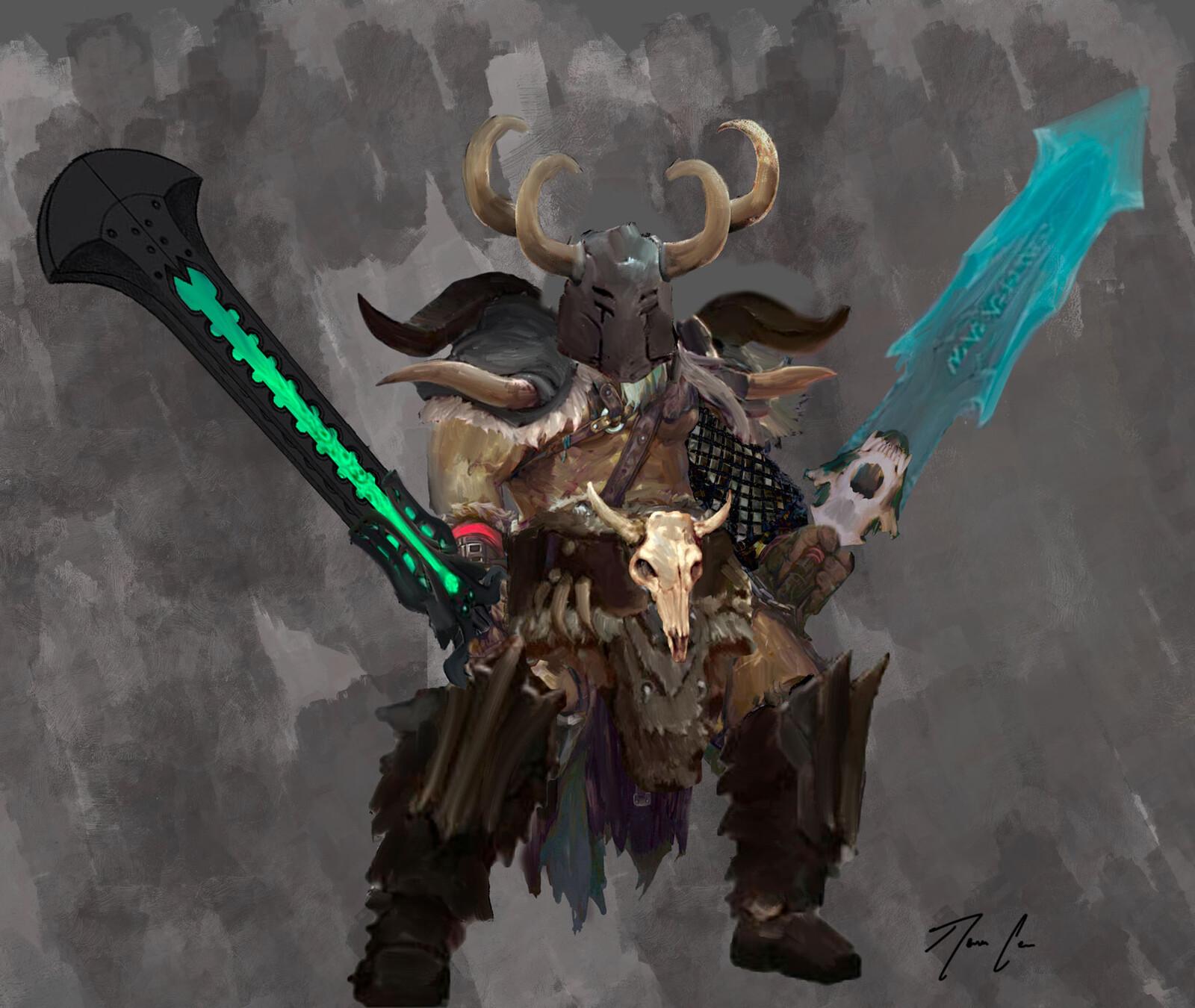 Norse Barbarian