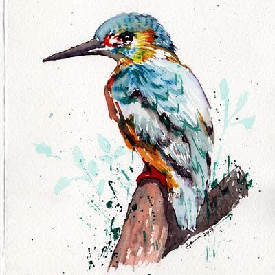 Waterlili2020 watercolor 1
