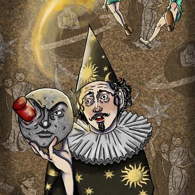 Bau cartoon amp animation irem sila fidali a trip to the moon illustration without movie title