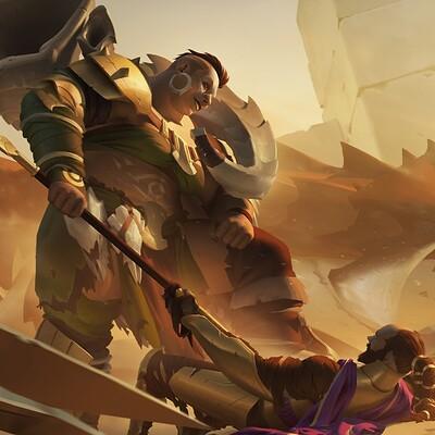 Jihun lee lizardrider f desertfighters