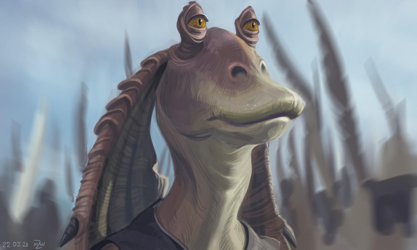 Jar Jar Binks from Star Wars: Episode I - The Phantom Menace