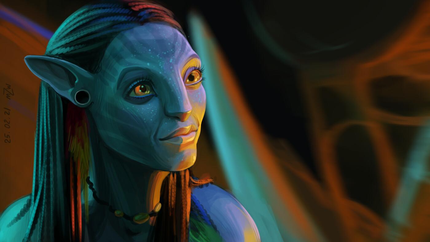 Neytiri from Avatar