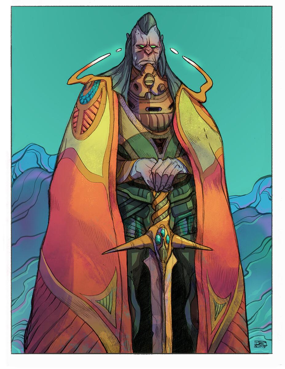Codename: Empyre - XKult Commander Roughs