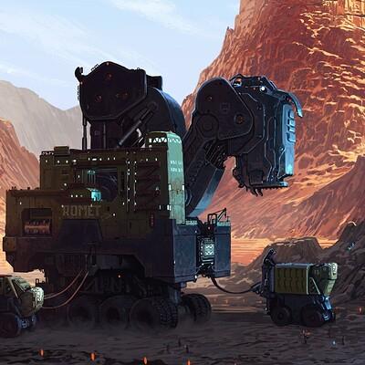 Jaroslaw marcinek heavy mining machinery v2 25