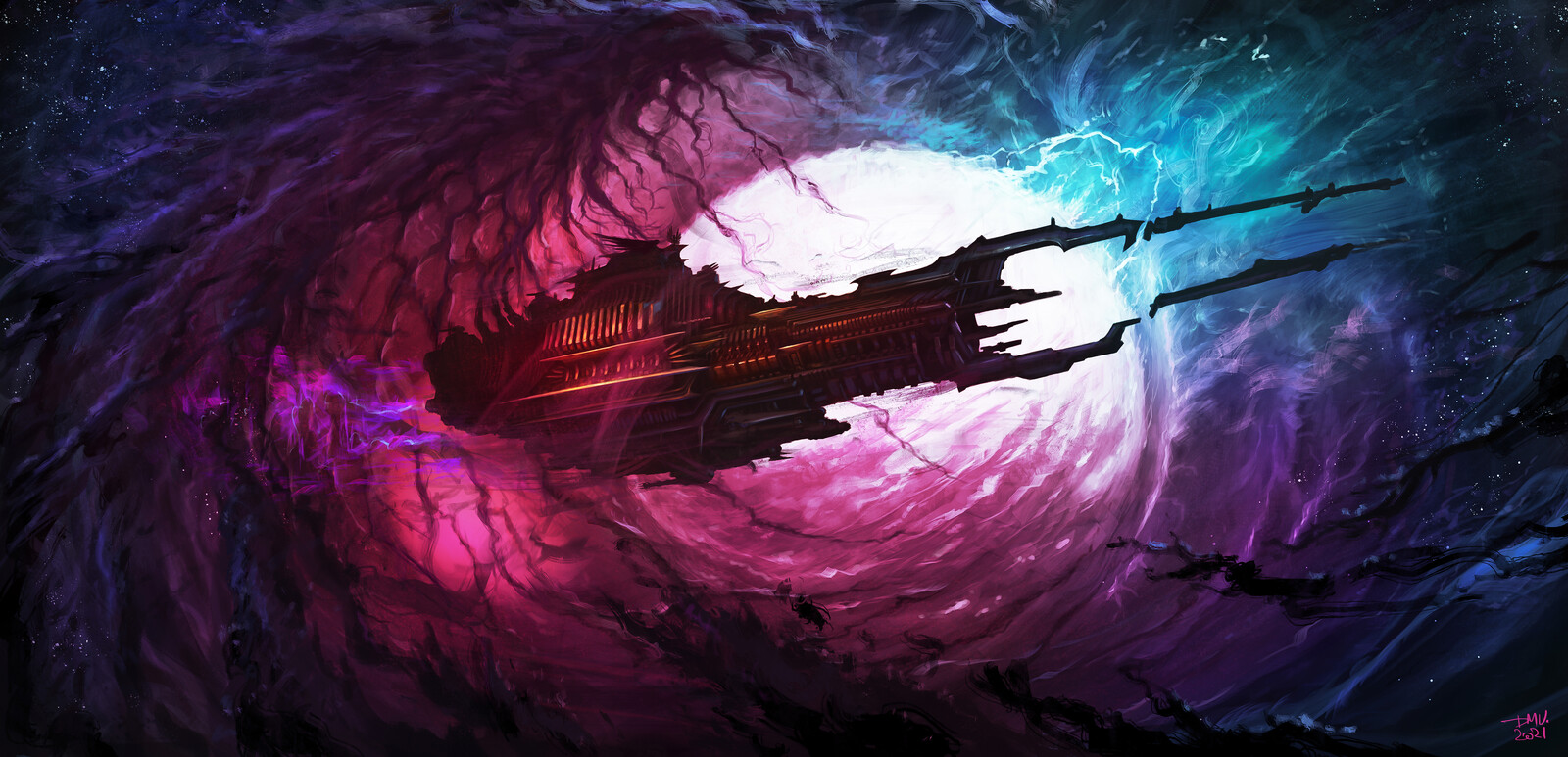 Dark Starship