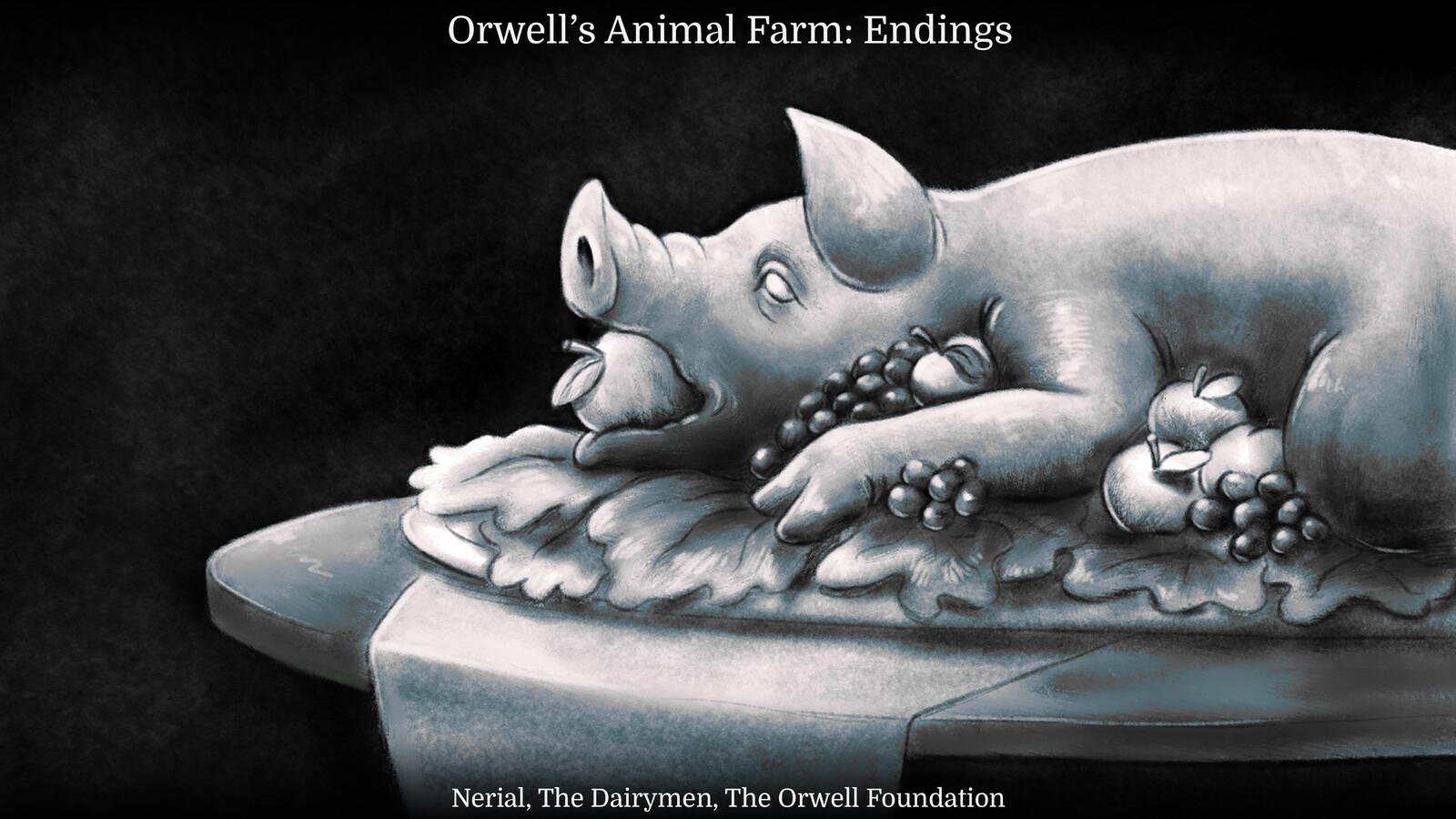 Orwell's Animal Farm: Endings