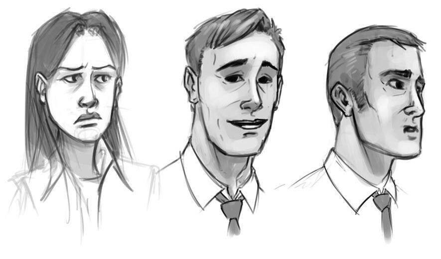 Some character sketches