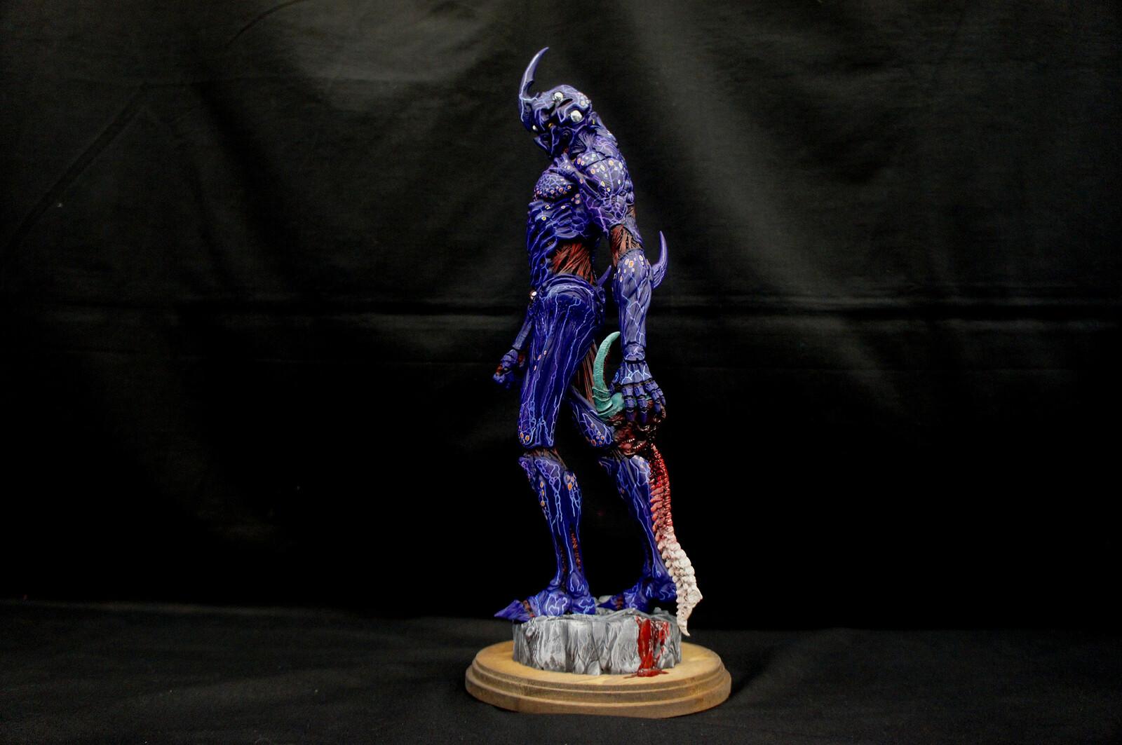 Vile Guyver Art Statue 邪悪な強殖装甲ガイバー https://www.solidart.club/