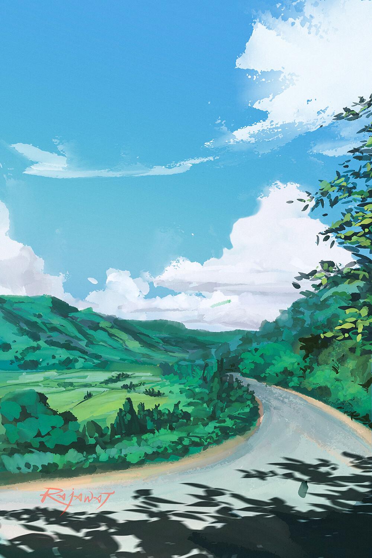 Ref: Ghibli background