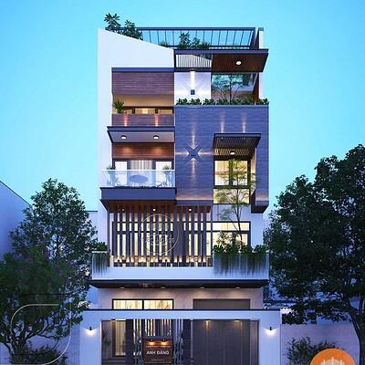 Neohouse architecture biet thu pho mat tien 8m 3