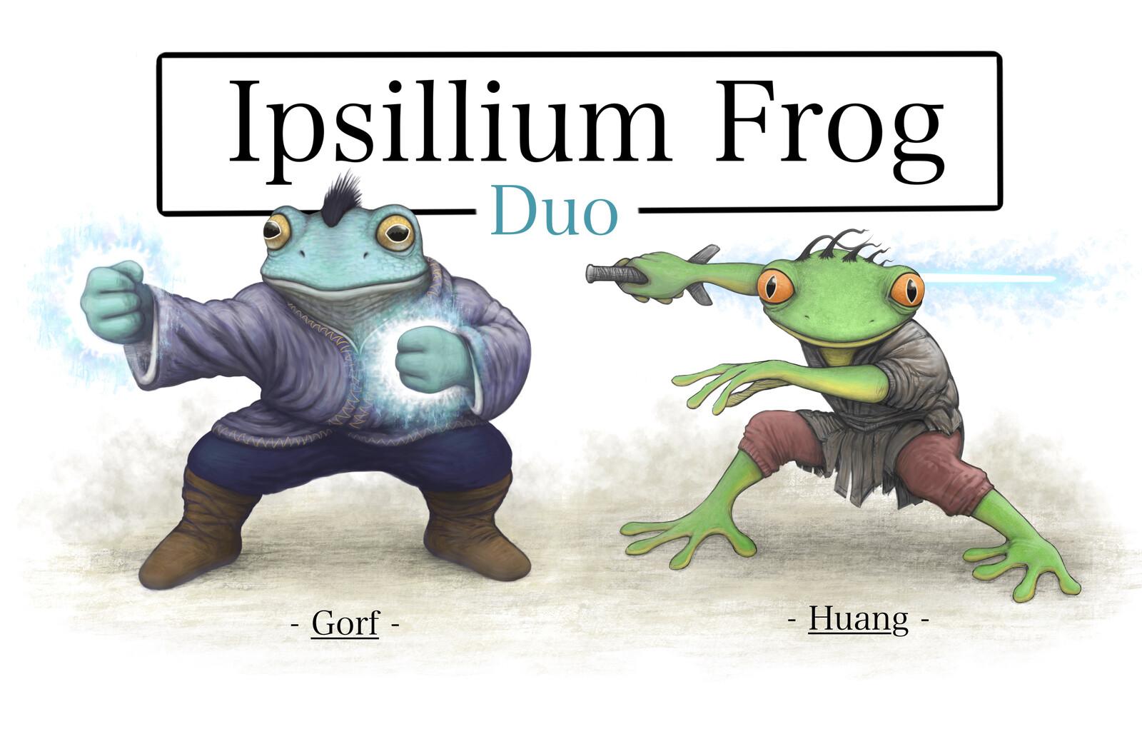 The Ipsillium Frog Duo