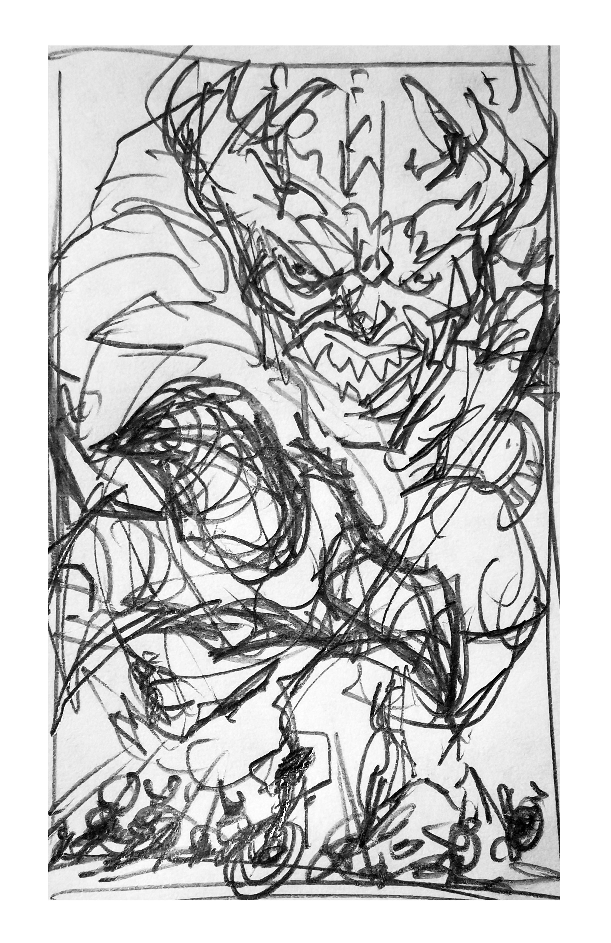 Raw sketch C