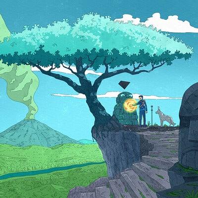 Visual Storytelling Illustration