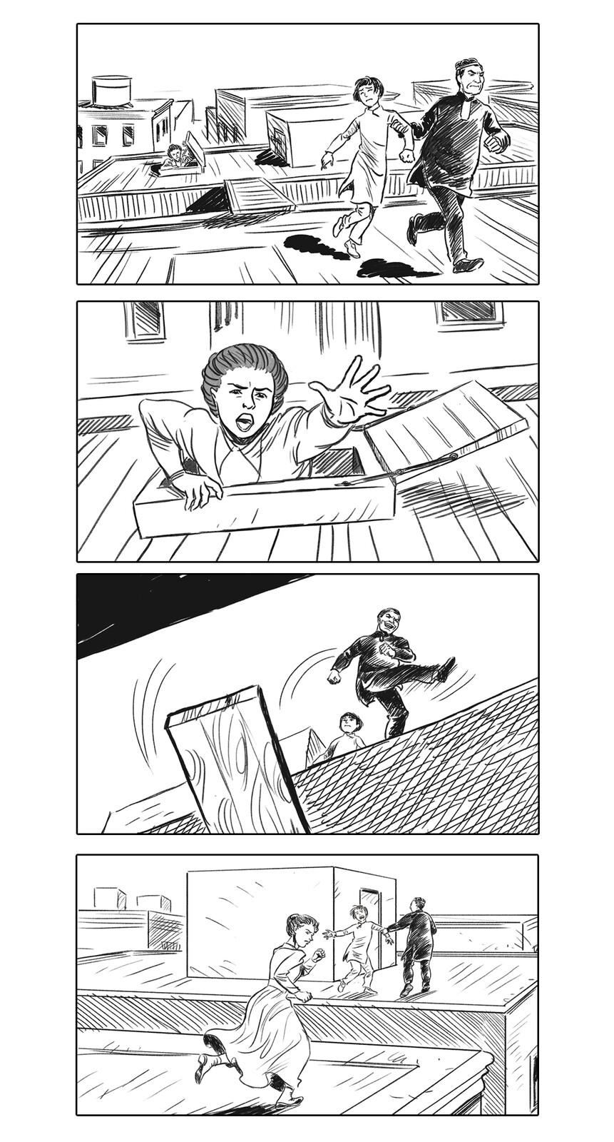 Donaldina storyboard