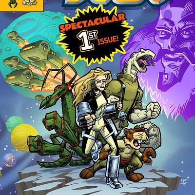 Rick schmitz comic cover