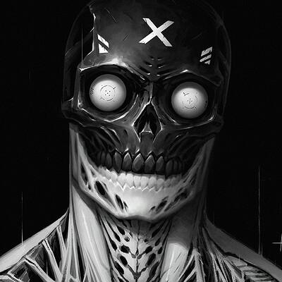 Adrian dadich skullface x