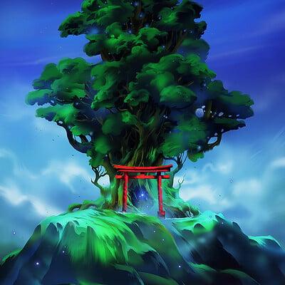 Nele diel spirit tree