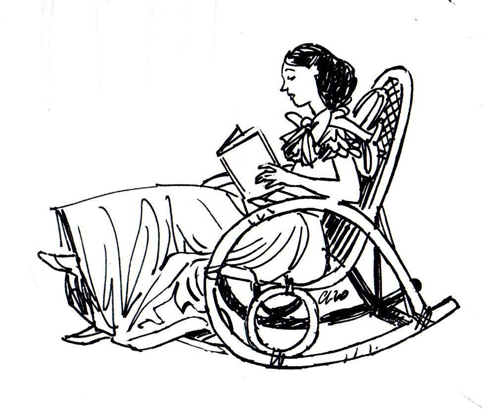 Scarlett reading