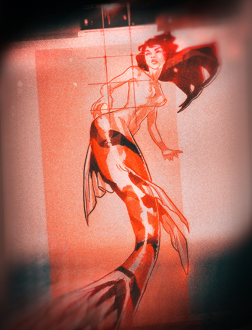 ARIEL: in DEEP RED Water. Come find us.