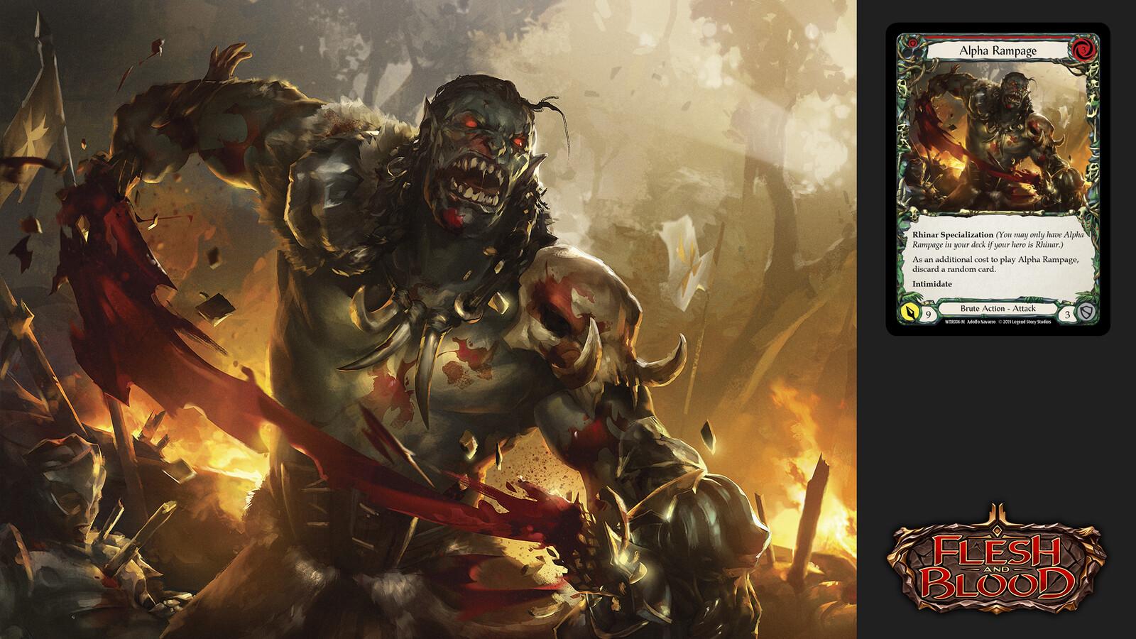 Alpha Rampage_Flesh&Blood
