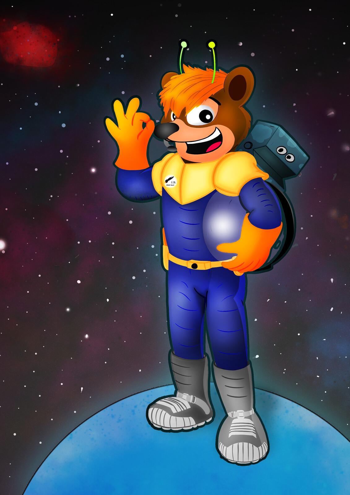 Space Bear + Robot Buddy