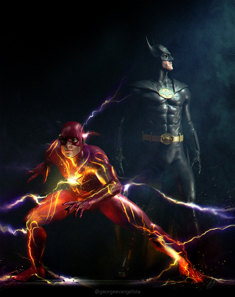 Flash and Batman - Flashpoint