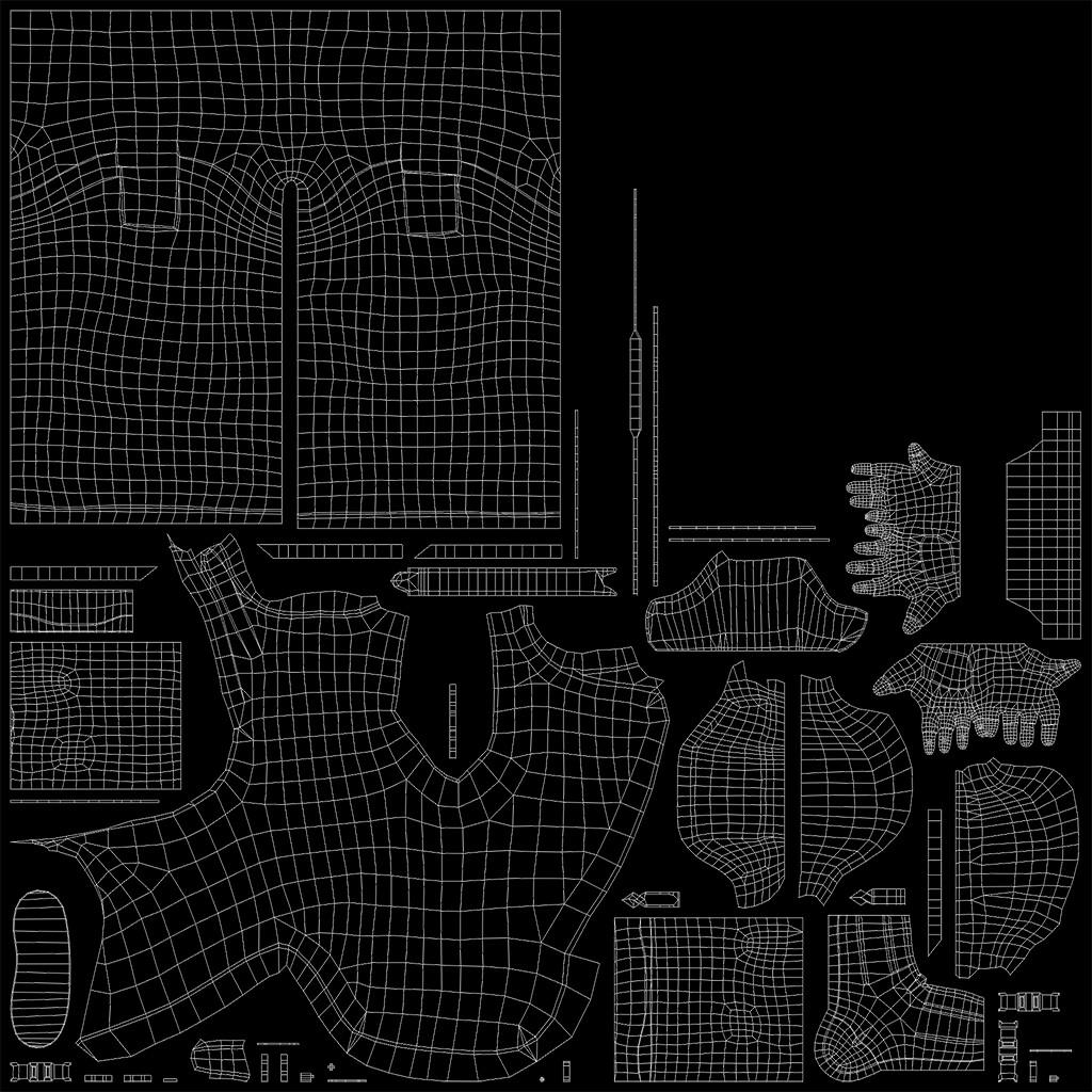 3 Texture Sets (3 x 2048)