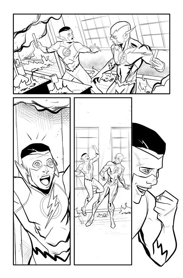Kid Flash p 18