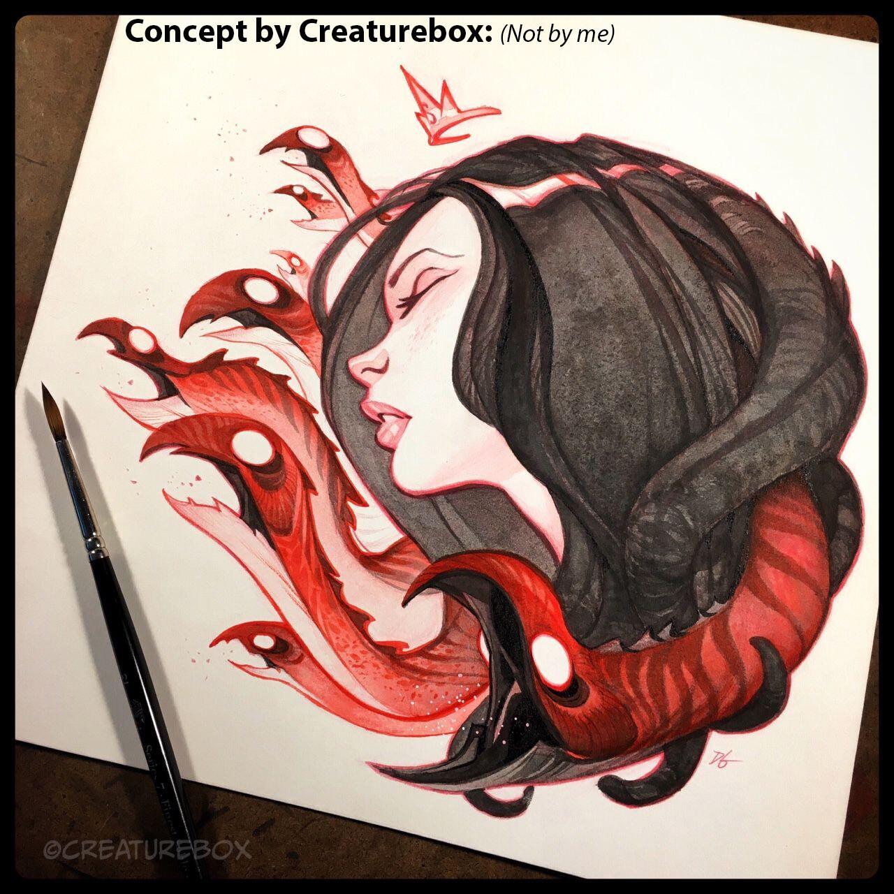 Nightmare Concept: By Creaturebox: Dave Guertin and Greg Baldwin