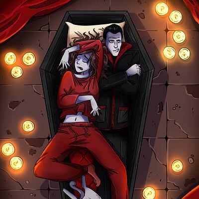Oixxo art 2021 01 10 vampires sleep
