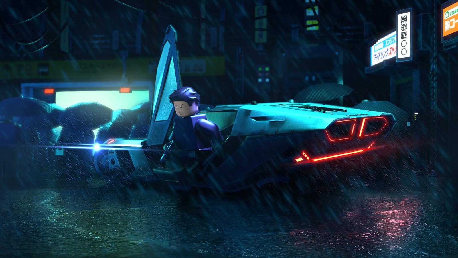 Lego Blade Runner (Fan art) - Project 01