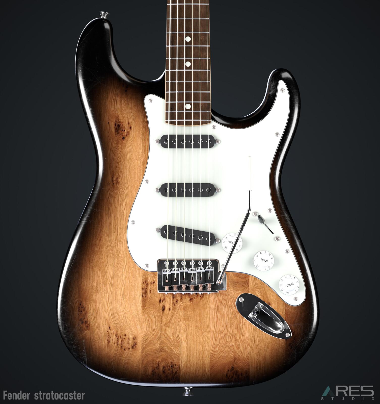 Fender - Stratocaster (PhotoRealistic)