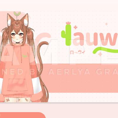 Aerlya graphics sample lauwibauwi vtuberdebut